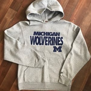 MICHIGAN Wolverines Hoodie - Adult Small